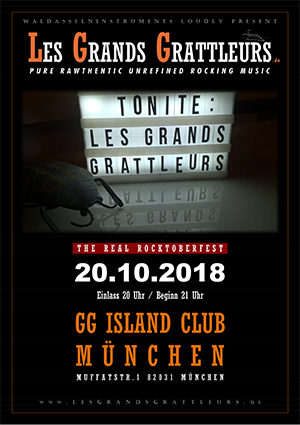 Les Grands Grattleurs - Tonite